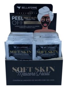 Máscara Peel Off Carvão Ativado – Display com 50 unidades