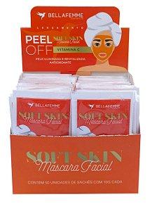 Máscara Peel Off Vitamina C – Display com 50 unidades