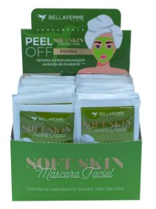 Máscara Peel Off Pepino – Display com 50 unidades