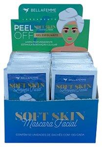 Limpeza Facial – Gel Esfoliante – Display com 50 unidades