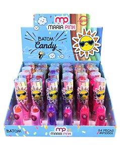 Batom Candy – MP10001 – Caixa Fechada com 24 Displays