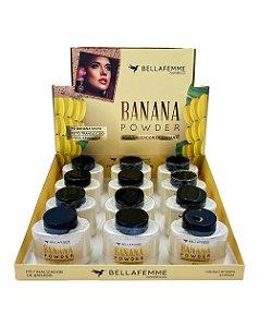 Pó Finalizador de Banana – Bella Femme BF10090 – Caixa Fechada com 144 Peças