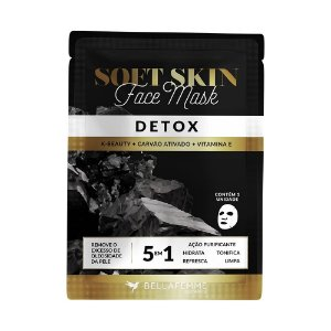 Máscara Facial K-Beauty Detox