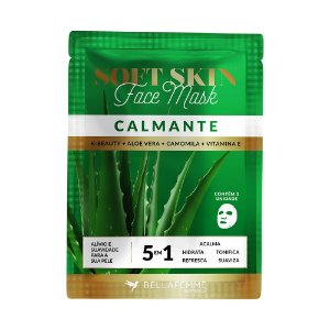 Máscara Facial K-Beauty Calmante