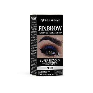 FixBrow Preto – Henna de Sobrancelha 12 Unidades