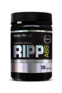 Ripp Abs - 120 Cápsulas Probiótica