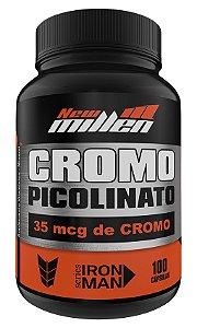 Picolinato de Cromo - 100 Cápsulas (NEW MILLEN)