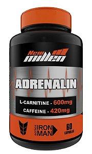 Adrenalin com cafeína - 60 Cápsulas (New Millen)