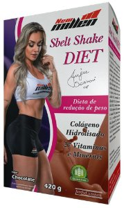 Sbelt Shake Diet Chocolate - 420g (NEW MILLEN)