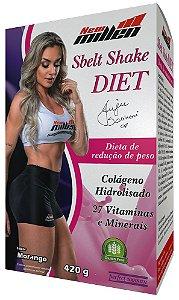 Sbelt Shake Diet Morango - 420g (NEW MILLEN)