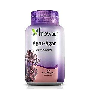 Ágar-Ágar 350mg - 60 Cápsulas (Fitoway)