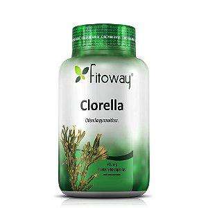 Clorella 400mg - 60 Cápsulas (Fitoway)