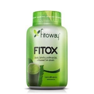 Fitox (Fórmula Detox) - 60 Cápsulas (Fitoway)