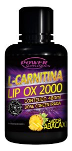L-Carnitina Lip OX 2000 Sabor Abacaxi - 480ml (POWER SUPPLEMENTS)