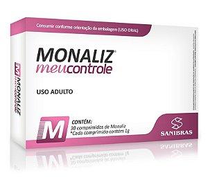 Monaliz Meu Controle - 30 Comprimidos (SANIBRÁS)