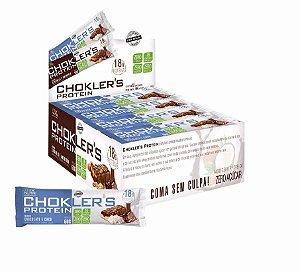 Barra de Proteína Chokler´s Chocolate Coco 12 Und 60g