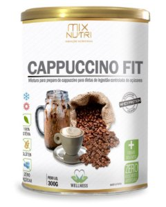 Cappuccino Fit - 300g (MIX NUTRI)