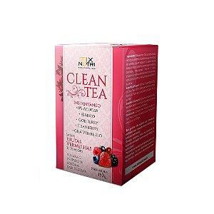 Clean Tea Sabor Frutas Vermelhas - 150g Mix Nutri