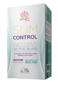 SLIM CONTROL 500mg - 60 Cápsulas (MIX NUTRI)