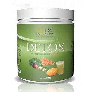 Suco Detox - Pó para preparo instantâneo - 300g (MIX NUTRI)