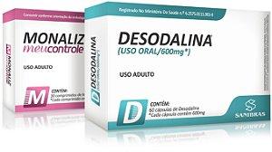 Kit Emagrecedor + Redutor de Apetite (Desodalina + Monaliz)