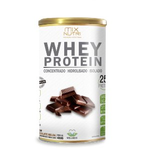 Whey Protein Sabor Chocolate - 450g Mix Nutri