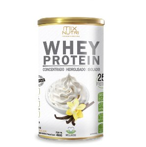 Whey Protein Sabor Baunilha - 450g (Mix Nutri)
