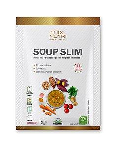Sopa Proteica Soup Slim Frango com Legumes - 10 unidades - (Mix Nutri)