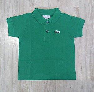 e420ea74170 Camisa Infantil Masculina - Lacoste - Gola V Básica - Roupa infantil ...