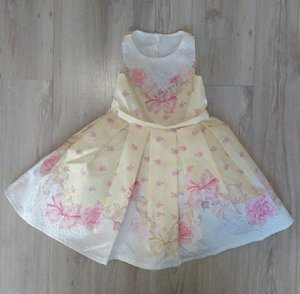 7a187a258 Vestido Infantil de Festa Sem Manga - Roupa infantil e roupa de bebê ...