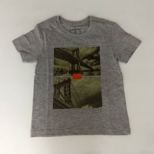 0d7e516936229 Camisa Infantil Masculina - Calvin Klein - Manga Curta Ponte