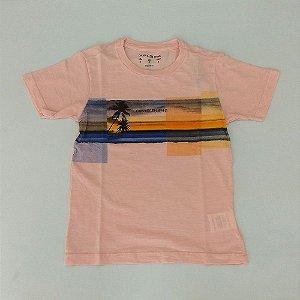 2dae352de575b Camisa Infantil Masculina - Calvin Klein - Manga Curta Coqueiro