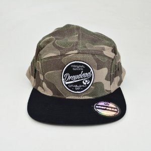 Boné Drop Dead Camuflado Five Panel