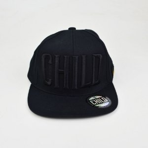 Boné Child Skateboard Preto Strapback