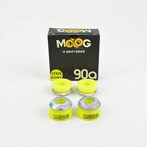 Kit Amortecedor Moog Cônico Amarelo 90A