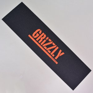 Lixa Skate Grizzly Stamp Print Orange