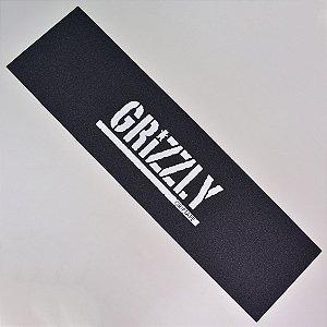 Lixa Skate Grizzly Stamp Print White