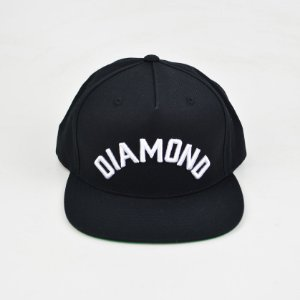 Boné Diamond Arch Snapback Black