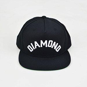 Boné Diamond Arch Snapback Black