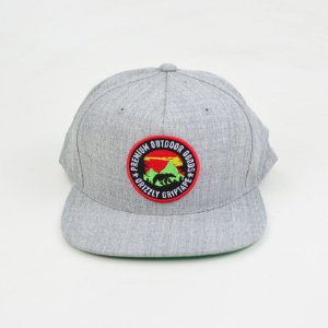 Boné Grizzly Outdoor Snapback Grey