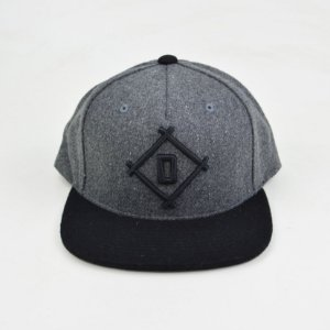 Boné Diamond Stick Ball Snapback Grey