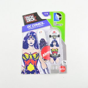 Tech Deck Dc Comics Mulher Maravilha 4/6