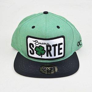 Boné Other Culture Snapback Sorte Verde Preto