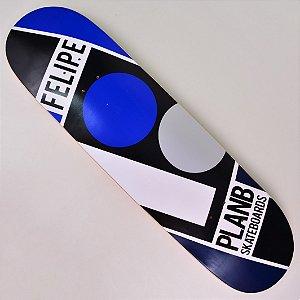 "Shape Skate PlanB Felipe Gustavo Slanted 8.1"""