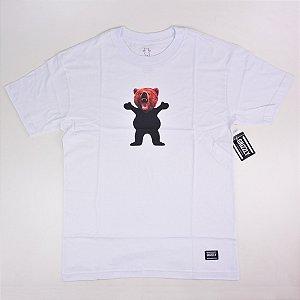 Camiseta Grizzly Og Yosemite Bear White