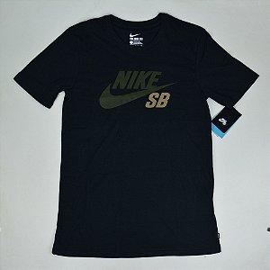 Camiseta Nike SB Dri-Fit Icon Preta