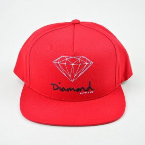 Boné Snapback Diamond Og Sign Red
