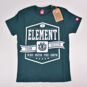Camiseta Element Juvenil Heers Green 10