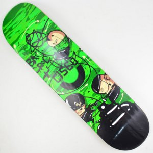 "Shape Skate Cisco BayCroc Guerrilha Green 7.7"""