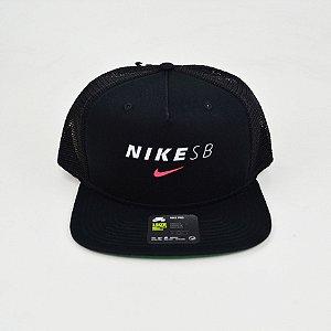 Boné Nike SB Pro Cap Trucker Black